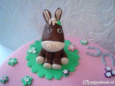 How to make fondant donkey