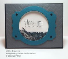 OSAT Masculine Blog Hop.  Fun masculine shaker card using the tools in the Stampin Up Guy Greetings stamp set - http://stampandembellish.com/2015/06/osat-blog-hop-fathers-daymasculine/