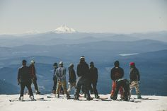 Burton's Pacific Northwest Trifecta 2015 | Was it really coincidence Burton organized a 13-person Trifecta trip (myself included)? Maybe, maybe not...