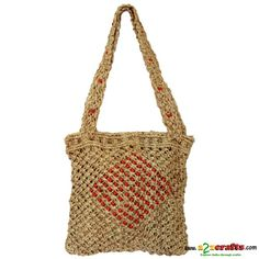 0f75a498eab1 Exclusive Eco friendly Trendy Jute Bag Size ( approx in inch) : 11 x 11  Handle : 10; Material used : Jute. | Clean instructuins : Clean with mild  detergent, ...