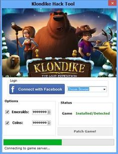 Klondike Lost Expedition Cheat Engine Today we want to present you new hack tool for Klondike. This is the newest hack created by group of professional programmers. Klondike Last Expeditio Glitch, Ios, Hack Facebook, Cheat Engine, What Is Work, Android, Test Card, Hack Online, Online Games