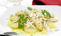 Receta de Ensalada de patata con huevo duro en vinagreta