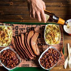 Celebrate #NationalBBQMonth with a juicy slice of Central Texas BBQ Brisket and a cold beer. Get the recipe on @TraegerRecipes.⠀ ------------------------------------------⠀⠀ #Traeger #TraegerGrills #TraegerBBQ #TraegerRecipes #bberandbbq #texasbrisket #sm