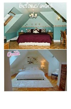 Home Staging before/after by Sonia Daigle
