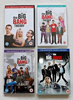 The big bang theory #seasons 1-4  dvd #box-set bundle - fast & free #shipping!,  View more on the LINK: http://www.zeppy.io/product/gb/2/371635286166/