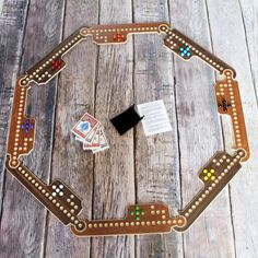 Jokers & Marbles Game by RusticRefined on Etsy. #familyfun