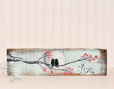 Rustic Valentine Gift Wood 5th Anniversary by LindaFehlenGallery