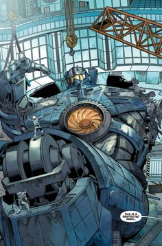 EXCLUSIVE first look at the opening pages of Pacific Rim: Tales From Year Zero. The upcoming prequel graphic novel presented by Guillermo del Toro & written by Travis Beacham. Storyboard, Comics Spiderman, Cyberpunk, Pacific Rim Jaeger, Gipsy Danger, Legendary Pictures, Godzilla, Game Art, Comic Art