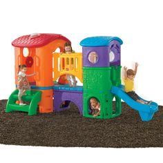 802300 Clubhouse Climber Active Bright Playset | Step 2 Play - High quality Children's Toys at low prices