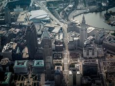 Downtown Cleveland, Ohio by ddimick, via Flickr