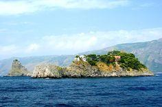 Rudolph Nureyev's Former Italian Island becomes Mariah Carey's Secret Retreat: Exterior Li Galli Islands
