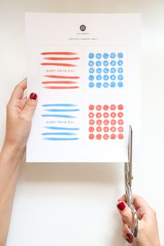 For the Makers: DIY: 4th of July Sparkler Printable