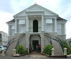 Courthouse in Mandeville, Manchester