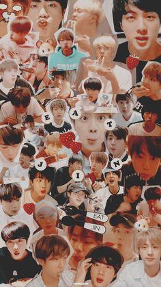 Foto Bts, Bts Jin, Bts Jungkook, K Pop Wallpaper, Bts Aesthetic Pictures, Worldwide Handsome, Bts Lockscreen, Bts Group, Bts Pictures