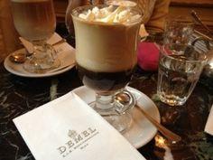 Coffeehouse culture at Cafe Demel  Vienna, Austria
