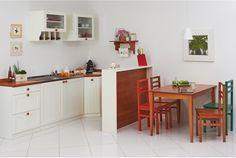 Inspiração: cozinha pequena