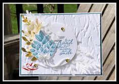 Tracie StLouis Ottawa Stampin' Up! Plastic Canvas Tissue Boxes, Plastic Canvas Patterns, Feather Cards, Leaf Cards, Monster High Custom, Beaded Crafts, Stamping Up Cards, Monster High Dolls, Flower Cards