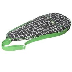 Tennis Racquet Cover in Arcadia. Product in photo is from www.wellappointedhouse.com