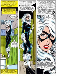 Black Cat in Amazing Spider-Man #252