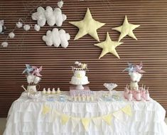 Give your guests a little bit of sparkle with a Twinkle Twinkle Little Star baby shower.