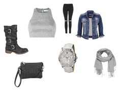 """""""Chillin Casual!!!"""" by diceyjane on Polyvore featuring Elizabeth and James, maurices, Maurice Lacroix and Topshop"""