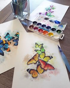 @marysimpledesign by Maria Pirogova #draw #design #designer #drawing #sketch #sketches #sketchbook #watercolor #watercolorpainting #painting #paper #instagram #instagood #instadaily #instalikes #illustration #illustrator #redbubble #butterflies #flowers #butterfly #color #colorful #nature #wildlife #insect