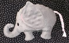 ELEPHANT Pet 3d Plush Softie ITH In the Hoop by astitchforyou