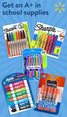 "The start of the school year is just around the corner! Make sure your kids are set up for success this school year by making sure they have everything they need to learn. Find all their teacher's Back to School supplies list at Walmart.com/mysupplies. Select ""add all items"" and ship them home."