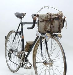 Learning to ride a bike is no big deal. Learning the best ways to keep your bike from breaking down can be just as simple. Touring Bicycles, Touring Bike, Velo Vintage, Vintage Bicycles, Road Bikes, Cycling Bikes, Cycling Art, Cycling Jerseys, Hilarious Animals