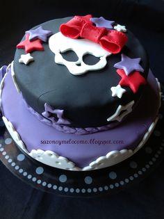 Tarta Monster High, Monster High cake