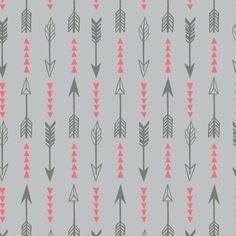 Light Grey Arrows  What A Gem by Camelot Fabrics by TheFabricFoxUK