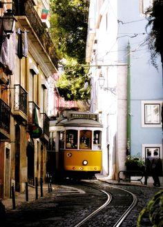 Alfama District - Lisbon, Portugal