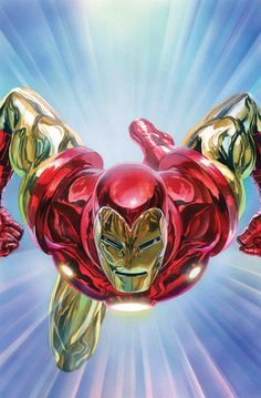 Marvel Tony Stark: Iron Man 1 - Alex Ross Wooden Wall Art 24 x 36 cm Poster Marvel, Poster Superman, Posters Batman, Batman Vs, Spiderman, Star Wars Poster, Superman Art, Comics Anime, Marvel Comics Art