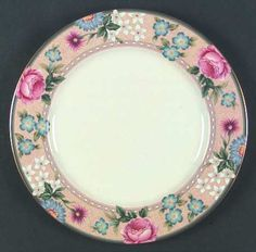 "Mikasa Regency Rose 12"" Chop Plate/Round Platter"