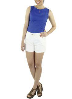 Blusa Lua #moda #lino #SS2015 www.abito.com.mx