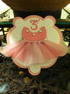 Ballerina invitation cards  set of 10 by CraftyParfait on Etsy, $35.00