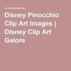 Disney Pinocchio Clip Art Images | Disney Clip Art Galore