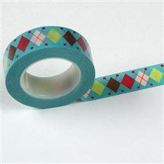 Washi Tape- Argyle