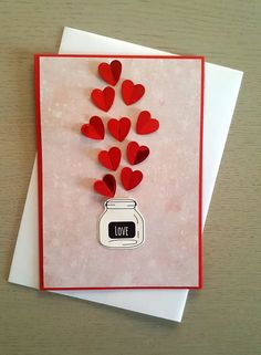 Kreatywny Wychowawca added a new photo — in Wroclaw, Poland. Valentines Day Cards Handmade, Handmade Birthday Gifts, Valentines Diy, Diy Gifts Love, Birthday Card Drawing, Friend Crafts, Karten Diy, Birthday Cards For Friends, Kirigami