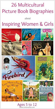 Multicultural Picture Book Biographies about Inspiring Women & Girls; Ages 5 to 12 Best Children Books, Childrens Books, History Activities, Library Books, Kid Books, Class Books, Preschool Books, Children's Picture Books, Find Picture