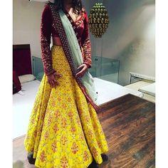 Indian Pakistani New Party Wear Bollywood Bridal Wedding Lehenga Choli Saree n Lehenga Dupatta, Bollywood Lehenga, Patiala Salwar, Silk Dupatta, Bollywood Dress, Bollywood Style, Sarees, Yellow Lehenga, Red Lehenga