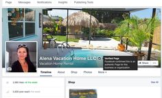 ALENA VACATION HOME  Thank You FB for confirmed my page and my business  is authentic  http://www.alenavacationhome.com