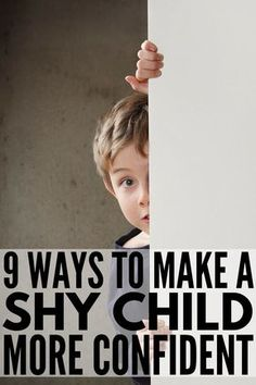 How to Make a Shy Child More Confident | Helping and teaching a child to overcome their shyness and social anxiety isn't easy, but we have 9 tips you can implement TODAY to help build your child's self-esteem and confidence. From self-care for kids to understanding the importance of positive affirmations for kids to teaching social skills to encouraging independence through age-appropriate chores, you don't want to miss this! #parenting #parenting101 #parentingtips #socialanxiety #selfesteem