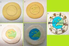 piruletaparty: tutorial galleta dia universal del niño