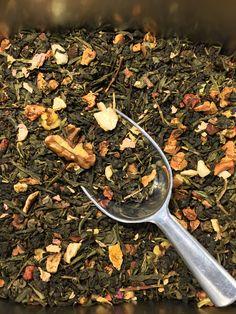 Thé oolong bio Saveur noix et cannelle Vanille Bourbon, Thé Oolong, Agriculture Biologique, Saveur, How To Dry Basil, Herbs, Food, Strawberry Fruit, Apple