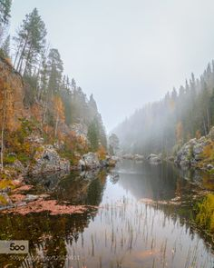 river of fall by geertweggen. Please Like http://fb.me/go4photos and Follow @go4fotos Thank You. :-)