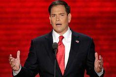 Producto: Es un enlace a Marco Rubio. El es senador de Florida. Es importante por el Republicans.