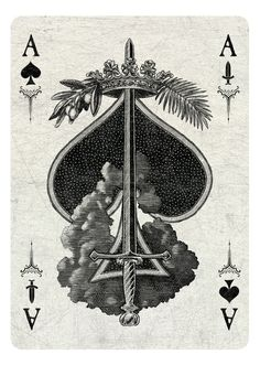 Ace of Spades/Swords light