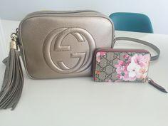 ba14668f311 Gucci Soho Disco Bag Card Case  Gucci GG Blooms Card Case Shop Soho Disco