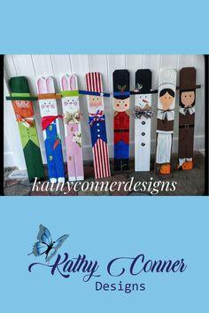 Crafts To Make, Crafts For Kids, Diy Crafts, Holiday Crafts, Christmas Crafts, Christmas Yard, Holiday Decor, Fence Post Crafts, Popsicle Stick Crafts